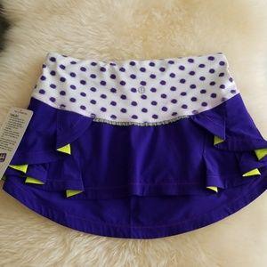Lululemon Presta polka dot Tennis Skirt